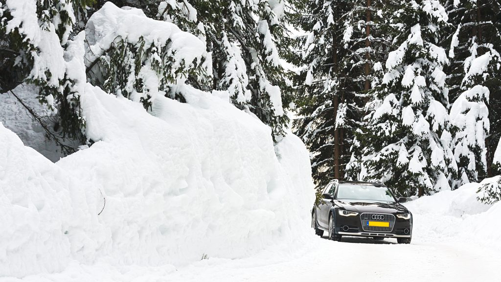 Winter Audi Allroad