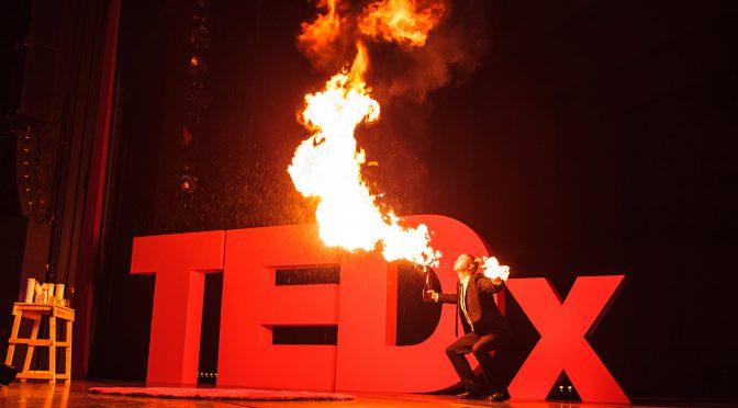 TEDx Utrecht in de Stadsschouwburg te utrecht